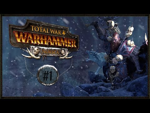 WINTER HAS COME - Norsca DLC Campaign - Warhammer Total War Gamplay #1