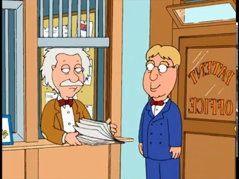 "Family Guy - ""Albert Einstein worked for the patent office"""