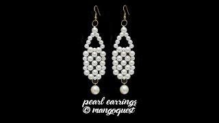 Pearl Earrings Tutorial Fashion Jewellery DIY