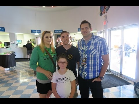 MEETING BEN HANSEN FROM SYFY'S FACT OR FAKED: PARANORMAL FILES! - July 2, 2016 - Usaaffamily Vlog