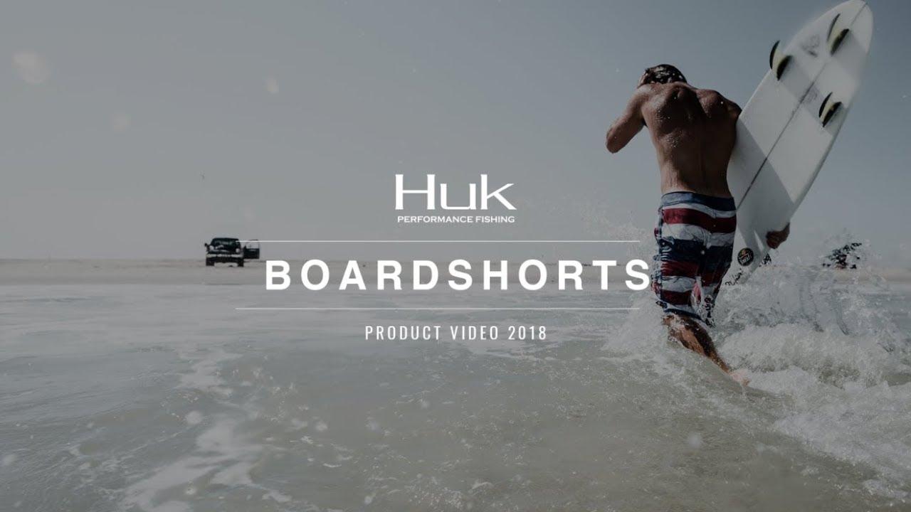 Huk Boardshorts Product Video 2018 Youtube