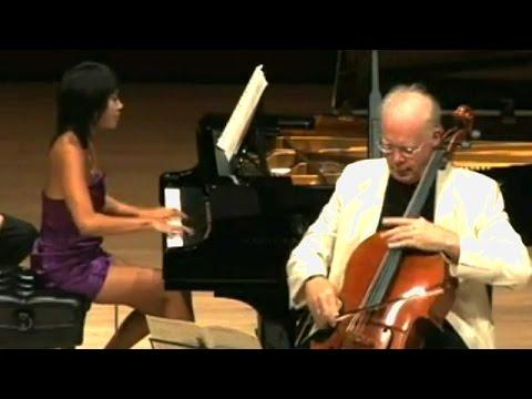 Yuja Wang & Lynn Harrell: Brahms Sonata for Cello & Piano No  2 in F major
