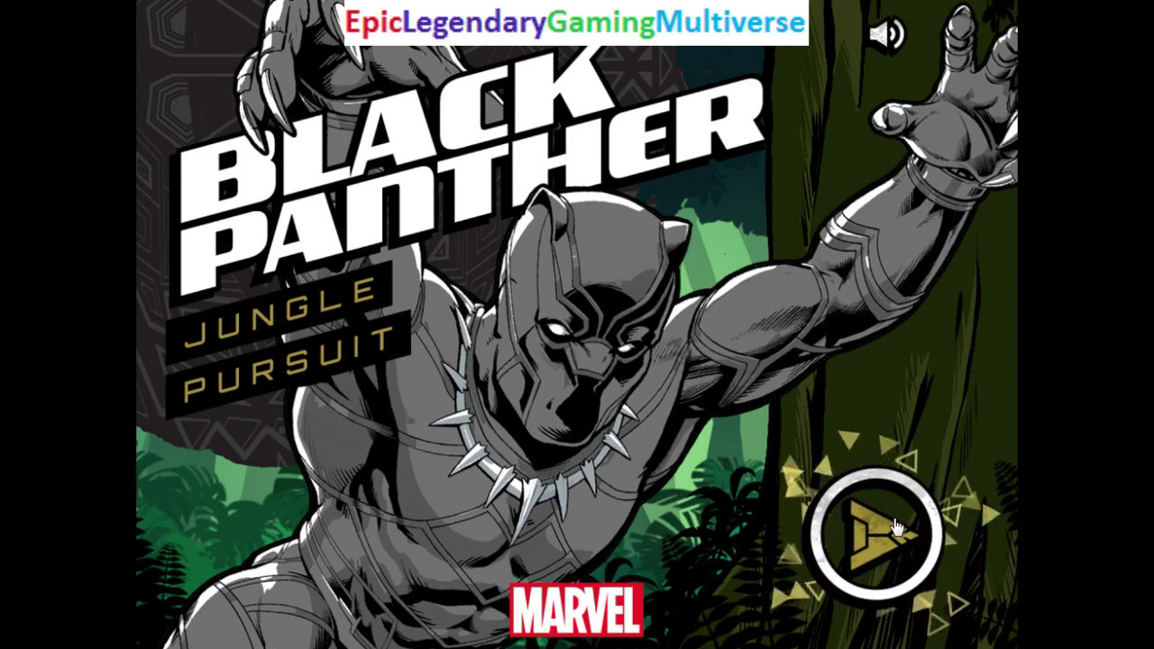 Marvel Black Panther Jungle Pursuit Gameplay Part 1 Playing As