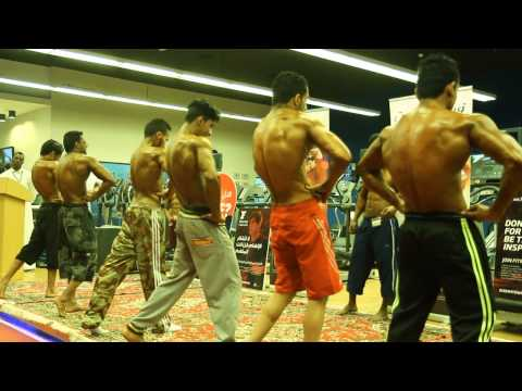 Fitness First Championship for bodybuilding in 2015 (model)