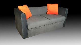 Небольшой диван для кафе на заказ(Удобный 2-х местный небольшой диван для кафе на заказ от производителя мебели для ресторанов и клубов. http://kro..., 2017-02-22T14:21:01.000Z)