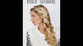 TUTORIAL | Side Braid by Barefoot Blonde
