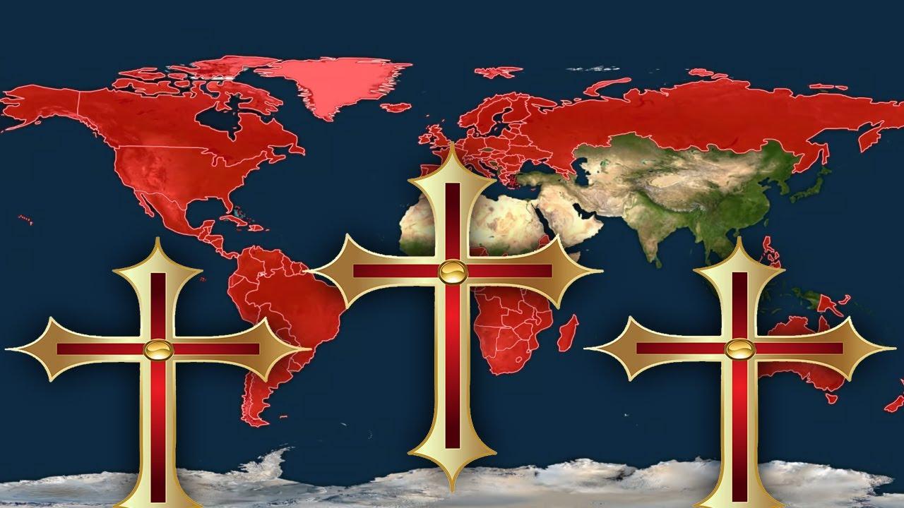Hristiyanlık Dininin Çoğunluk Olduğu Ülkeler Birleşseydi?