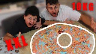 10KG DÖNER -DONUT gemacht und gegessen (Weltrekord!?)
