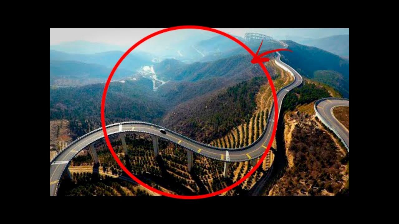 ¿Por Qué Los Chinos Construyeron Una Carretera A Través De Las Nubes Por $ 4 Mil Millones?