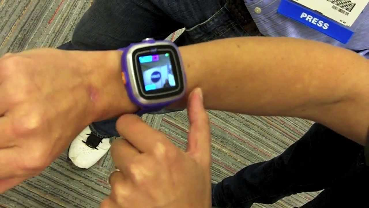 Vtech Kidizoom Smart Watch First Look At Interactive See Talking Electronics Website For Kids Youtube