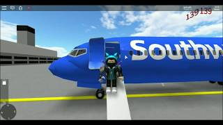 Southwest 737-800 Full Flight-ROBLOX