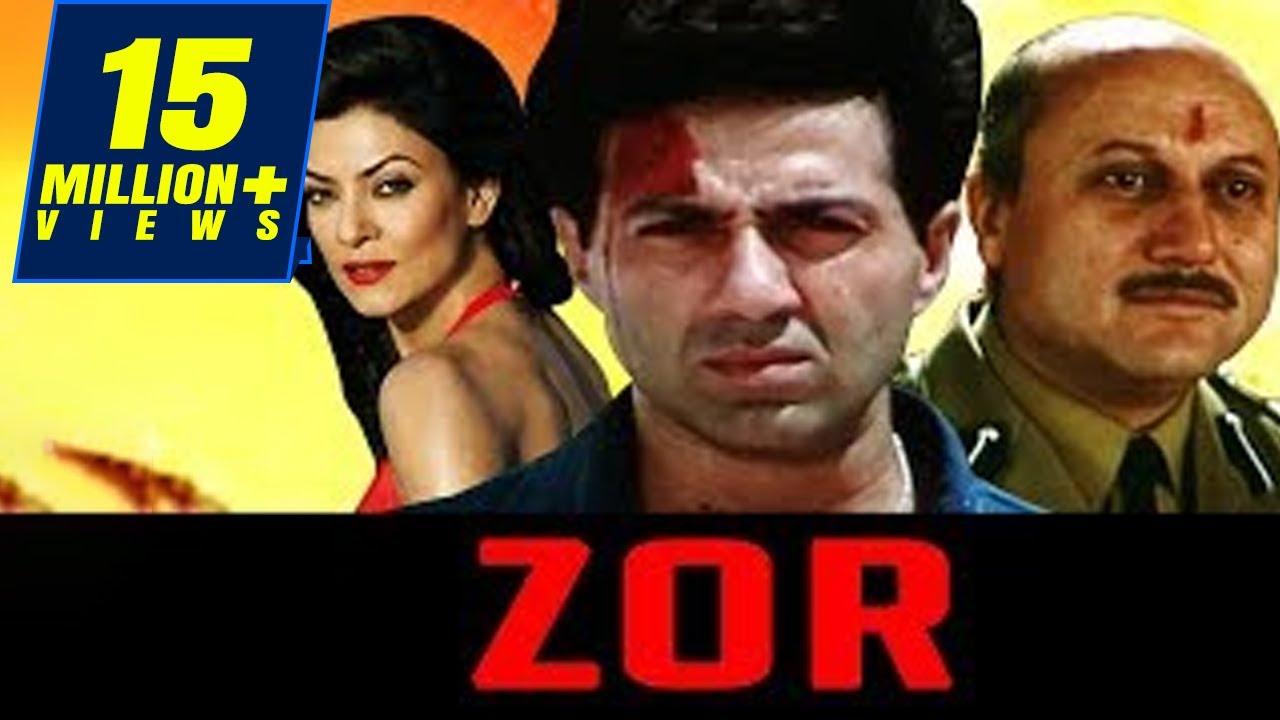 Download Zor Movie 1998   Full Hindi Movie   Sunny Deol, Sushmita Sen, Milind Gunaji, Om Puri, Anupam Kher