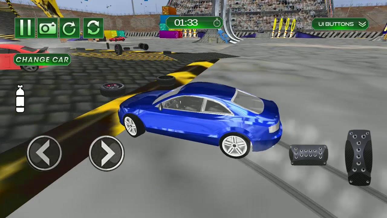 Car Crash Racing Engine Damage Simulator