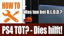 PS4 tot: Was tun bei Blue Light of Death? Playstation 4 Defekt BLOD