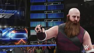 WWE 2K19 The Bar vs. Bludgeon Brothers
