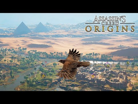 Assassins Creed Origins - Open World Gameplay (XB1X) @ 1440p HD ✔