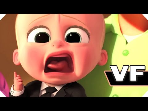 BABY BOSS (Animation, 2017) - Bande Annonce VF / FilmsActu