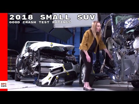 2018 Small SUV Good Crash Test Ratings