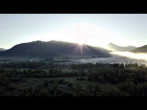 Восход солнца на Алтае