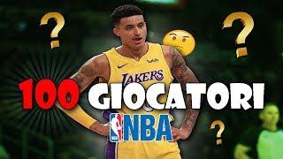 SAI DIRMI IL NOME DI QUESTI 100 GIOCATORI NBA??