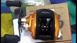 Metal Fishing Reel BY G H