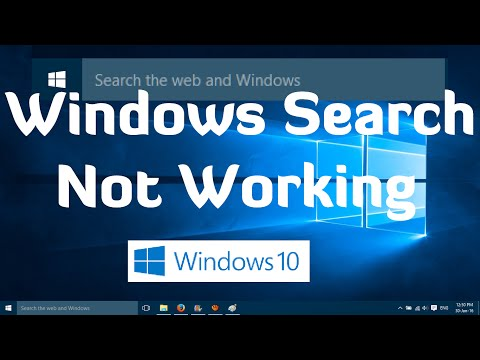 how to search in windows 10