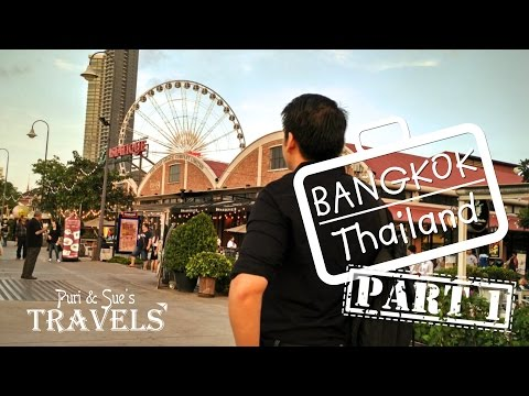 Puri & Sue's Travels: Bangkok 2017 Part 1 (Silom - Platinum Mall - Asiatique)