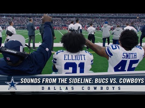 Sounds from the Sideline: Week 16 Buccaneers vs. Cowboys | Dallas Cowboys 2018
