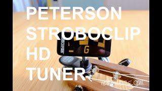 Got A Ukulele Reviews - Peterson Stroboclip HD Tuner
