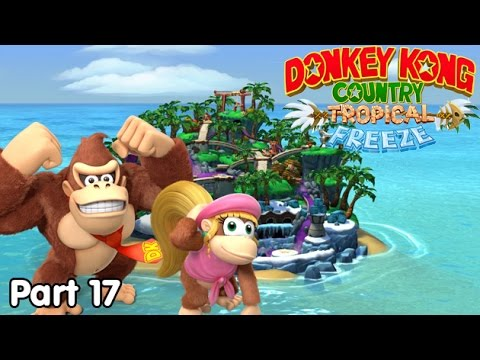 Slim Plays DKC: Tropical Freeze - #17. It's Donkey Kong & Jelly Time!