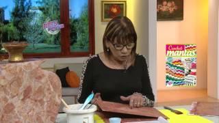 Rosita Zacarías - Bienvenidas en HD - Pinta un jarrón con imitación mármol rosa verona.