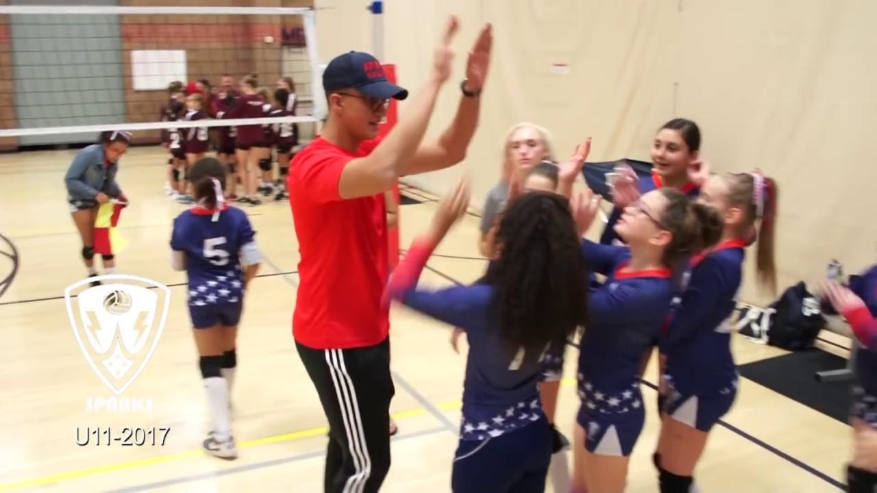 Sparks Volleyball Club VS Rage 11U - Highlights