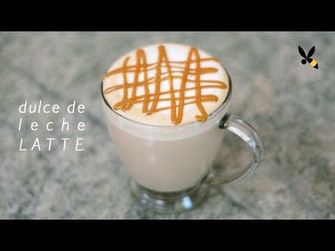 Dulce de Leche Latte Recipe with the Breville Barista Express