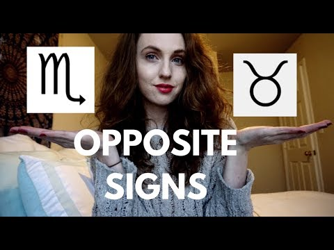 OPPOSITE SIGNS | Taurus & Scorpio | Hannah's Elsewhere