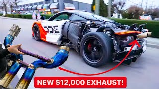 MEET THE LOUDEST MCLAREN IN THE WORLD! *Unobtainium Straight Pipe*