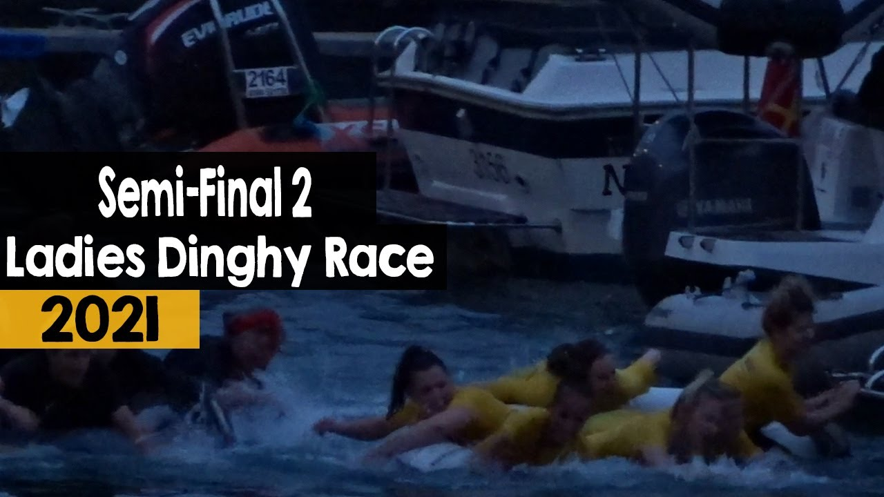 Ladies Dinghy Race | Semi-Final 2  | 2021