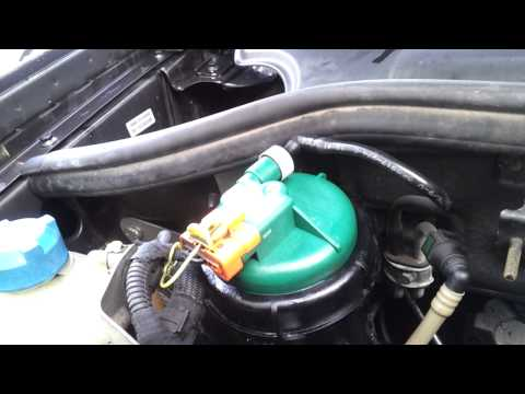 Fiat Doblo  1.3 Multijet Diesel Fuel Filter Leak