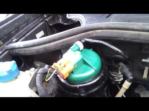 Fiat Doblo  1.3 Multijet Diesel Fuel Filter Leak
