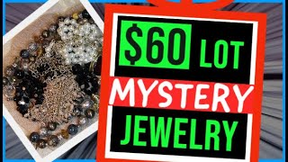 ETSY MYSTERY JEWELRY BOX UNBOXING | JEWELRY REVEAL UNBAGGING UNJARRING | SILVER VINTAGE MODERN