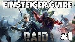 RAID Shadow Legends Einsteiger Tipps und Tricks Guide Part 1