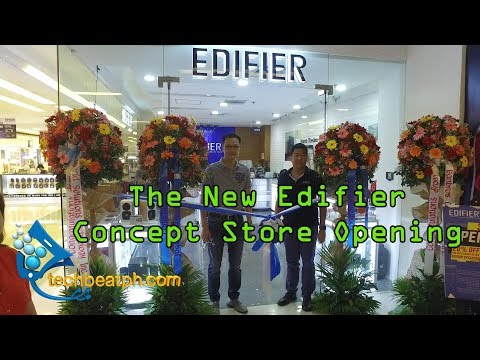 EDIFIER opens First Concept Store in PH