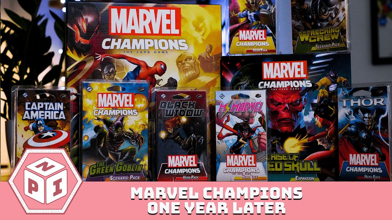 Marvel Champions Review - Missing a Gem
