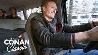"Conan Helps Out During The NYC Transit Strike - ""Late Night With Conan O'Brien"""