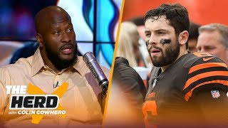 James Harrison talks Baker's rookie struggles, 'buying' into the Rams and more | NFL | THE HERD