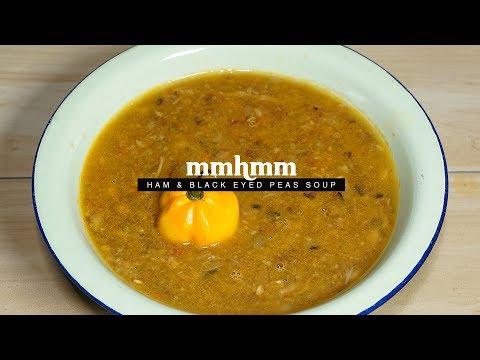 Leftover Ham & Black Eyed Peas Soup | Mmhmm