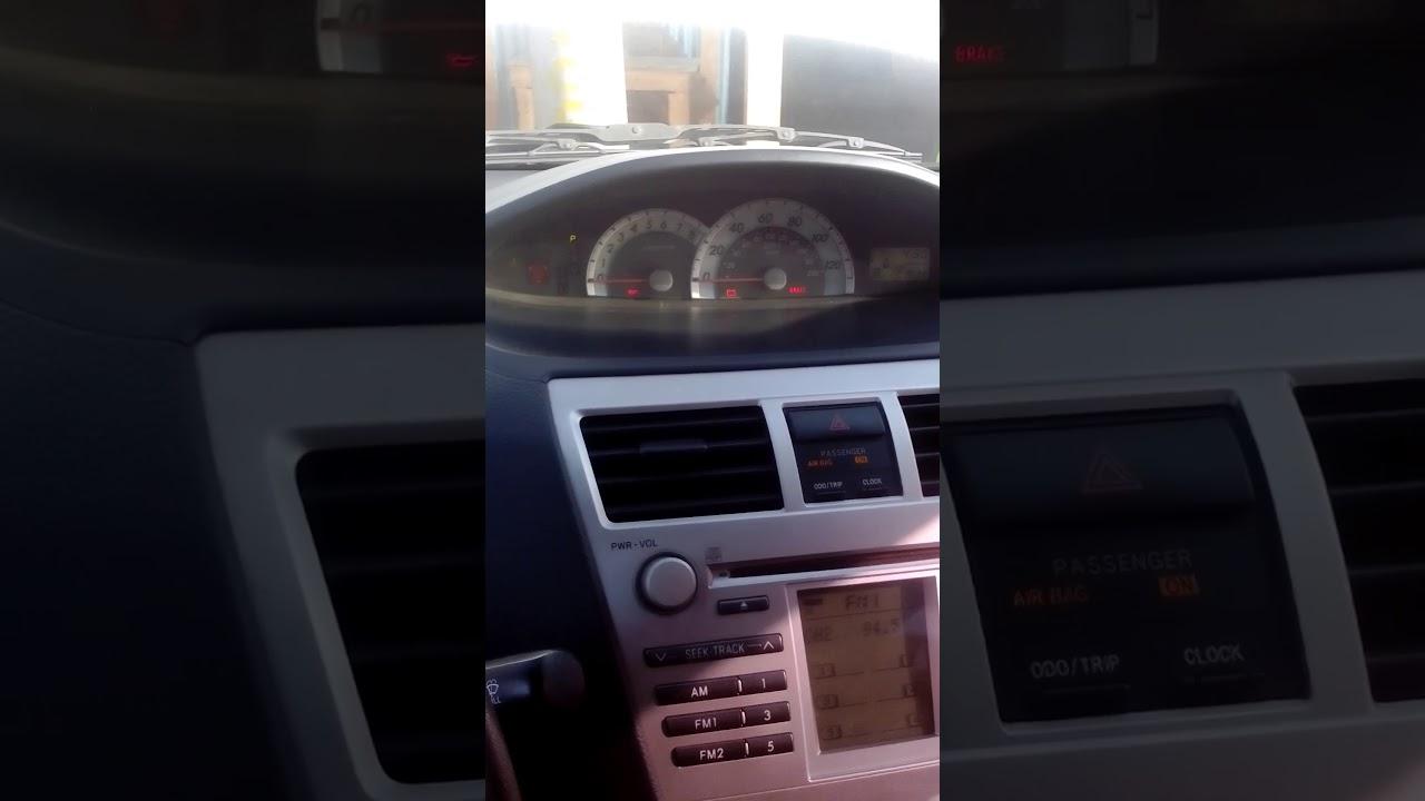 Desactivar airbag toyota yaris