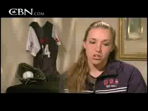 The Faith of Olympic Softball Monica Abbott - CBN.com