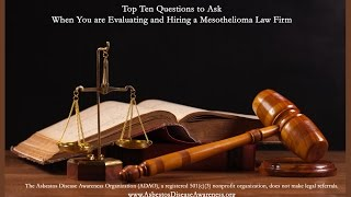MESOTHELIOMA LAW FIRM - news 2015
