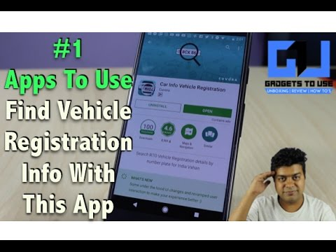 Hindi | #1 Find Car, Bike, Vehicle Registration Details, Owner Name in India | Apps To Use