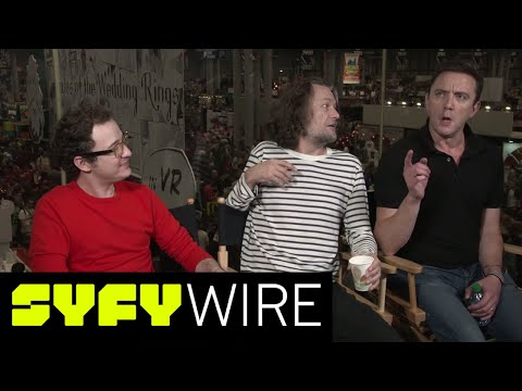 What is Yoda's Last Name? The Tick Cast Have Answers | New York Comic-Con 2017 | SYFY WIRE